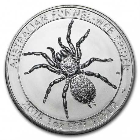 Australian Funnel - Web Spider, 1 oz. Silver 2015