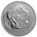 Australia Lunar Dragon, 1/2oz Silver, 2012
