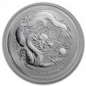 Australia Lunar Dragon  1/2 oz  Silve  2012