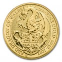 Queen's Beasts Dragon, 1 oz. Gold, 2017