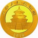 China Panda, 15 g. Gold  2016