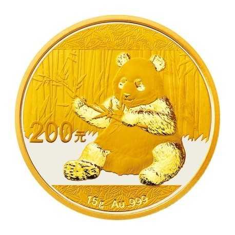 China Panda, 15 g. Gold  2017