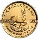 Krugerrand, 1/4oz Gold,(Mixed Years)