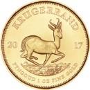 Krugerrand, 1oz Gold, 2017