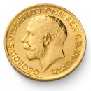 Full Sovereign George V, Gold, 1911-1932