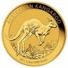 Nugget / Kangaroo, 1/4oz Gold, 2017