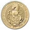 Queen's Beasts Unicorn, 1 oz. Gold, 2018
