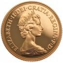Half sovereign, Elizabeth II Decimal head 1982(proof)