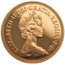 Half sovereign, Elizabeth II Decimal head 1982(proof)