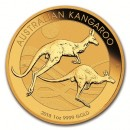 Nugget / Kangaroo, 1oz Gold, 2018