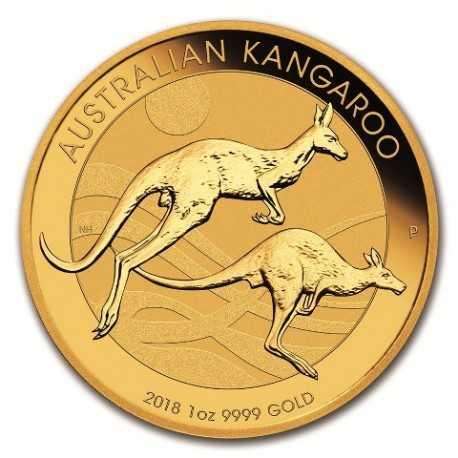 Nugget / Kangaroo, 1oz Gold, 2018
