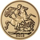 Full Sovereign Elizabeth, Gold, 2018