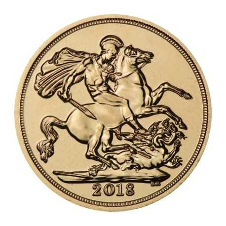 Full Sovereign Elizabeth, Gold, 2018