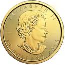 Canadian Maple Leaf, 1oz Gold, 2018