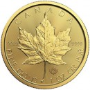 Canadian Maple Leaf, 1oz Gold, 2018