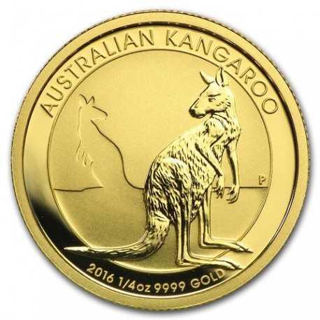 Nugget / Kangaroo, 1/4oz Gold, 2016