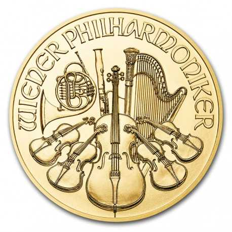 2018 Austrian Philharmonic 1oz Gold Coin