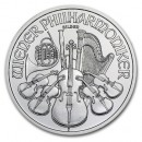 Austrian Vienna Philharmonic 1oz.Silver, 2017-2018