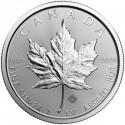 Maple Leaf  5 Dollars 1 oz  Silver - 2018