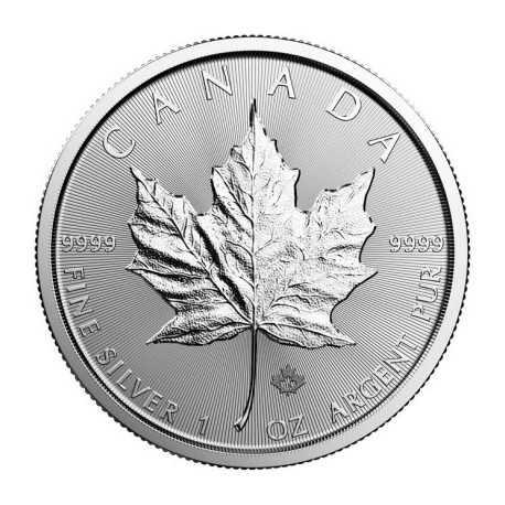 Maple Leaf, 5 Dollars, 1 oz. Silver 2017-2018