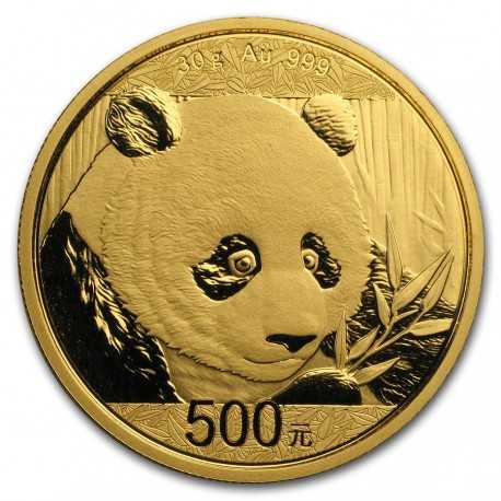 China Panda, 30 g. Gold  2018