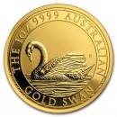 Australia Swan 1oz Gold 2017