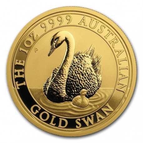 Australia Swan 1oz Gold 2018
