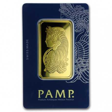 50 gram Gold Bar - PAMP Suisse Fortuna Veriscan (In Assay