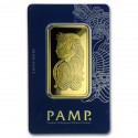 50 gr Fortuna Gold Bar - PAMP Suisse