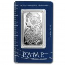1 oz Fortuna Silver Bar - PAMP Suisse