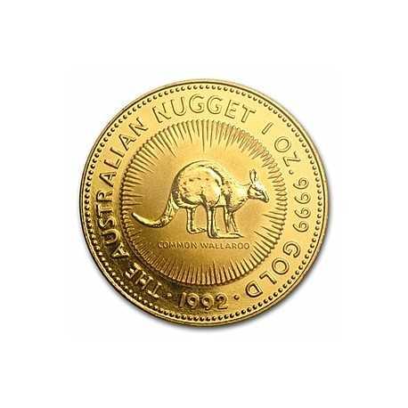Australian Gold Kangaroo Nugget 1992 - 1 oz
