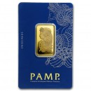 20 gr Fortuna Gold Bar - PAMP Suisse
