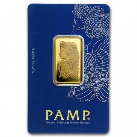 20g Gold Bullion PAMP Suisse Fortuna