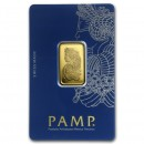 10 gr. Fortuna Gold Bar - PAMP Suisse