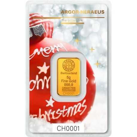 5g Gold Bar Christmas Edition