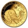 Somalia Elephant African 1 oz Gold 2018