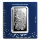 100 gr. Fortuna Silver Bar - PAMP Suisse