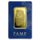 100 gr. Lady Fortuna  Gold Bar - PAMP Suisse