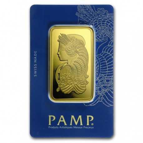100 gr Gold Bar - PAMP Suisse Lady Fortuna Veriscan® (In Assay)