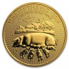 Year of the Pig  1oz Gold  Great Britain  2019