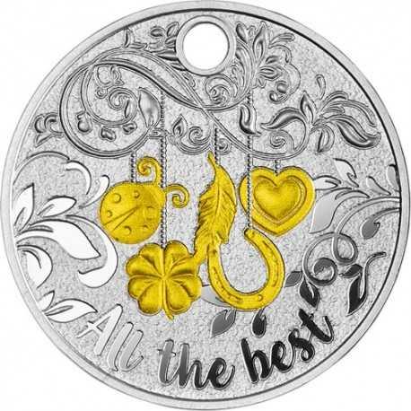 1Dollar, All the Best Key Ring