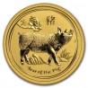 Australia  Lunar Pig 1/10 oz Gold 2019