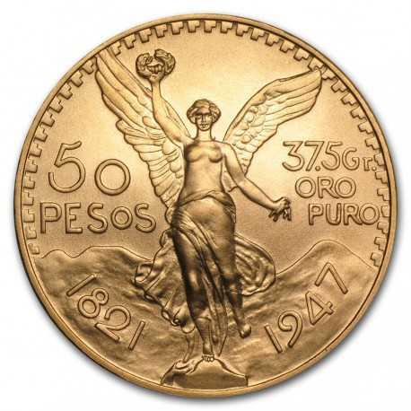 Mexico Gold Coin, 50 Pesos