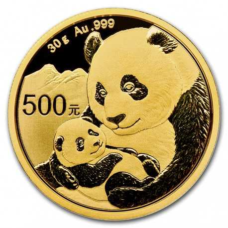 Gold Panda  China 2019  30 gram