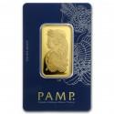 1 oz  Fortuna  Gold Bar  PAMP