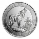 Canadian Grey Wolf, 3/4 oz, Silver, 2015