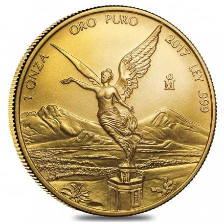 Mexican Libertad, 1 oz. Gold, 2017 Mexico