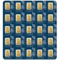 25x1 gr. Fortuna Gold Bar-Pamp