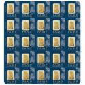 25x1 gr. Fortuna Gold Bar-Pamp