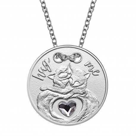 Hug Me, Silver Gift Coin, 2019